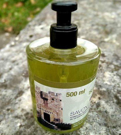 Savon d'Alep liquide - 500ml - Savon-Alep.shop