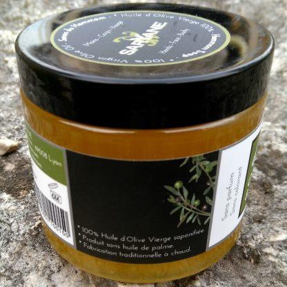 Savon noir du hammam - 100% huile d'olive