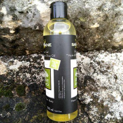 Savon 100% huile d'olive en gel douche liquide. 250 ml. Code barre2