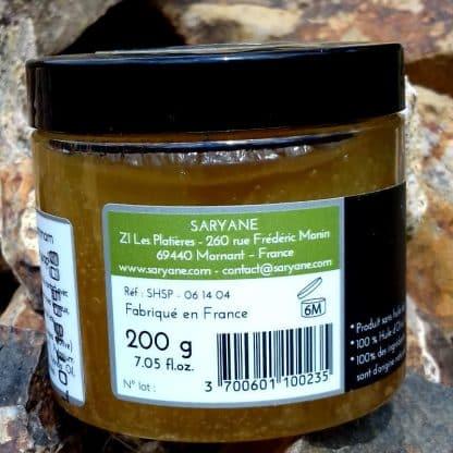Savon noir du hammam au lavandin - code barre