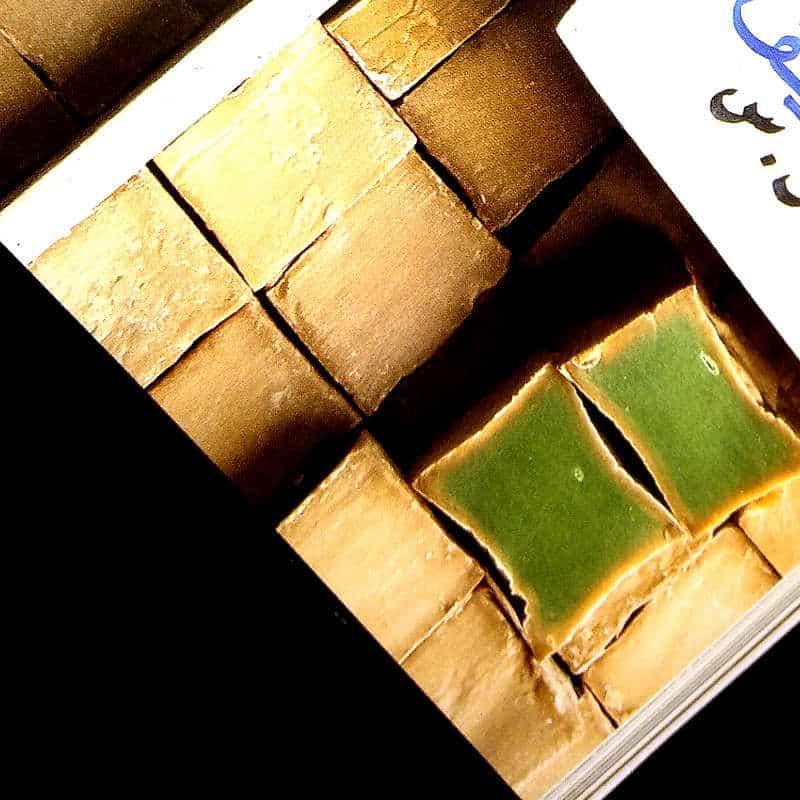 Savon d'Alep traditionnel à 5 % d'huile de baie de laurier