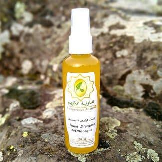 huile d'argan 100% naturelle