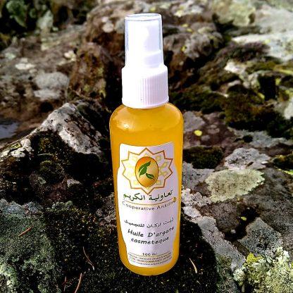 huile d'argan naturelle artisanale