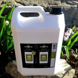 Savon 100% huile olive en bidon de 5 litres